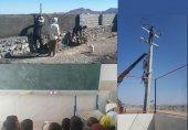 تحقق وعدهی آذری جهرمی برای نوسازی و تجهیز مدرسهی روستای رمشک کرمان