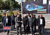 گزارش تصویری/ بازدید دکتر عارف از نوزدهمین نمایشگاه ایران تلکام