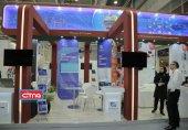 فیلم و تصاویر/ برپایی موثر پاویون ملی ایران در نمایشگاه ITU تلکام مجارستان