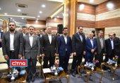 گزارش تصویری/ آیین افتتاح پروژه مرکز عملیات شبکه شرکت مخابرات ایران
