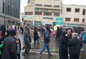 استقبال پست بانک ایران از راهپیمایان یوم الله 22 بهمن
