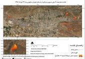 پایش تصاویر ماهوارهای؛ از 17 تا 22 اردیبهشت 691 هکتار از مراتع اطراف تهران سوخته است!