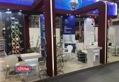 گزارش تصویری/ ساعات پایانی تلاشها برای آماده سازی نمایشگاه تلکام بوداپست/ مراحل نهایی تکمیل پاویون ملی ایران در نمایشگاه