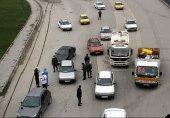 حمله به مأموران پلیس حین جلوگیری از تردد یک خودروی غیربومی