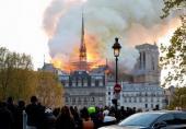 علت آتش سوزی در کلیسای کهن پاریس معلوم شد