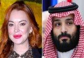 چت کردن های عاشقانه بن سلمان با بازیگر زن معروف!