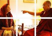 واکنش کاربران به دیدار کتایون ریاحی با دالایی لاما