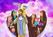 پوستر چند همسری و آشوبی که در فضای مجازی راه انداخت