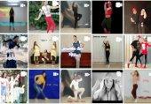 جزییاتی ناگفته از رقص دختران در اینستاگرام! (عکس)