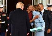 ویدیو/ هدیه همسر ترامپ، اوباما را گیج کرد!