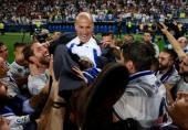 واکنش بازیکنان رئال مادرید به استعفای زیدان در شبکه های مجازی