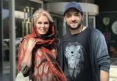 پست بهرام رادان همره با بازیگر سرشناس بریتانیایی