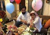 بهاره رهنما تصاویر جشن سالگرد ازدواجش را منتشر کرد (+عکسها)