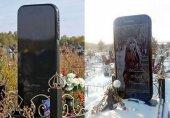 عجیب ترین سنگ قبر با عکس سلفی یک دختر!