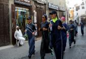 پوشش جالب زنان سعودی برای ورزش!