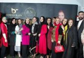 پست تشکر بهاره رهنما از همسرش و تصاویر رونمایی از عطر زن باران با حضور بازیگران زن