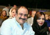 سلفی مهران غفوریان با همسرش پس از عمل جراحی