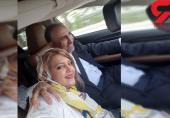 سلفی نجفی شهردار سابق تهران با زن جوانش در ماشین لاکچری!