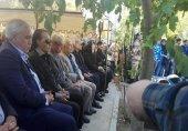 تصویری از شفر و استقلالیها در مراسم منصور پورحیدری