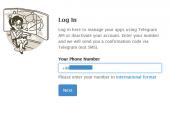 حذف اکانت تلگرام - Delete Account Telegram/ لینک