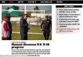 نمازی سرمربی تیم ملی جوانان آمریکا در جام جهانی 2019