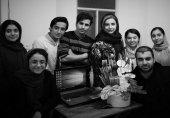 عکس یادگاری «شبنم قلیخانی» با شاگردانش