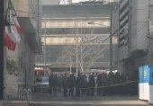 مصدومیت ۱۲ نفر در آتش سوزی ساختمان برق حرارتی وزارت نیرو