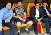 کنایه سنگین سعید آذری به مدیرعامل استقلال در اینستاگرام