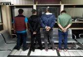 بازداشت دو زن که با هفت مرد در دو خانه فساد نیمه عریان بودند