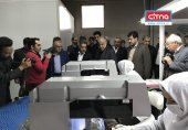 وزیر اقتصاد در بازدید از کارخانهی مخابراتی ارگ جدید: استفادهی دولت از تولیدات ملی ضروری است