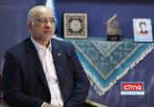 حضور مدیر عامل شرکت مخابرات ایران در ستاد مادران آسمانی