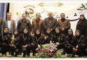 حمایت صندوق قرضالحسنه بانک پارسیان از المپیاد ورزشی مدارس استثنایی شهر تهران