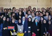 گزارش تصویری/ آیین تجلیل از خبرنگاران با حضور رئیس مجلس شورای اسلامی