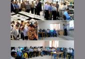 بازدید اساتید رشته مهندسی برق دانشگاههای فنیوحرفهای کشور از نیان الکترونیک