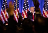 بازتاب گستردهی کنفرانس خبری جنجالی ترامپ در توئیتر
