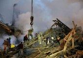 """گزارش تصویری """"سایت یاهو"""" از آوار برداری ساختمان """"پلاسکو"""""""