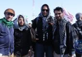 ویدئویی که آذری جهرمی به مناسبت اربعین به اشتراک گذاشت